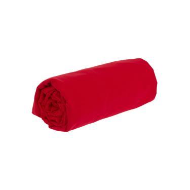 Lençol avulso microfibra king com elástico - vermelho LE