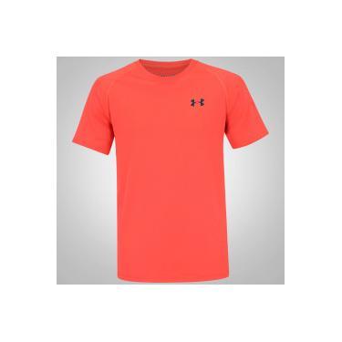 f283b1b4eda42 Camiseta Under Armour Tech - Masculina - LARANJA Under Armour