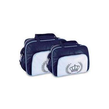 3ca77149e Bolsa de Bebê, Mala e Trocador Frasqueira Azul Americanas | Bebês ...
