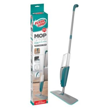 Spray Mop Inteligente Vassoura Rodo com Microfibra Flash Limp MOP7800