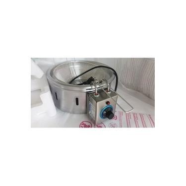 Fritadeira elétrica profissional Tacho elétrico alumínio 4 litros 2500 watts 110volts