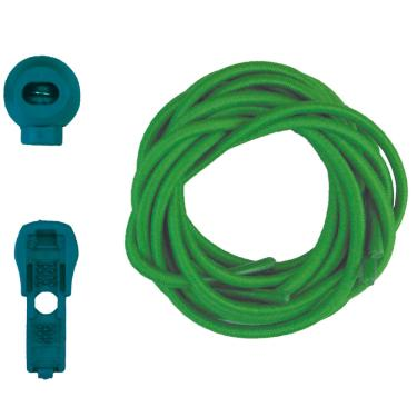 Cadarço de Elástico Cool Lace Verde