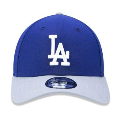 c6f15f4171800 Boné Aba Curva New York Yankees DODGERS BON397 New Era - Azul Royal