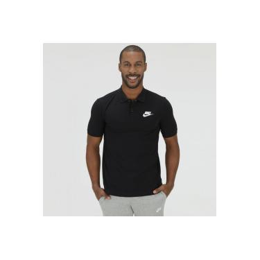 f161f3a49a Camisa Polo Piquet Nike NSW Matchup - Masculina - PRETO Nike