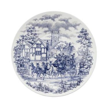 Conjunto de Pratos Rasos Com 6 Peças 26cm Actual Cena Inglesa - Oxford