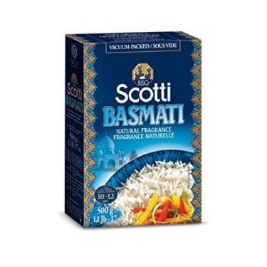 Arroz Natural Basmati Scotti 500g