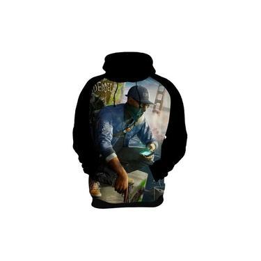 Camiseta Blusa Moletom Watch Dogs Xbox One Ps4 Jogos Kids 08