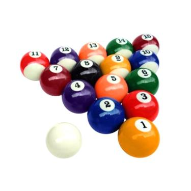 Bolas De Sinuca Bilhar Snooker Numeradas 16 Peças Western