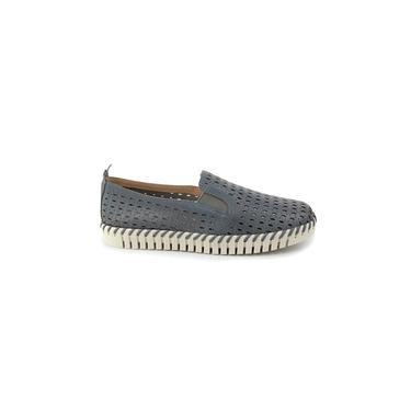 Sapato Feminino Bottero Couro Chumbo 3156