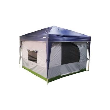 Imagem de Gazebo com Barraca Tenda Trixx Paredes Casa Camping Transform Nautika 3x3 Impermeável Articulado