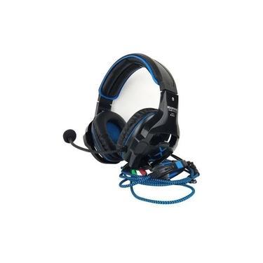 Headfone Gamer Usb/p2 7.1 Surround Led C/microfone Hf-g650 Azul
