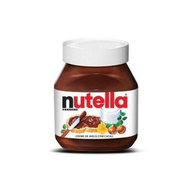 Creme Nutella De Avelã Ferrero 650 Gramas