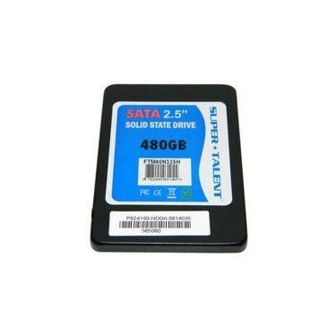 SSD Super Talent, 480GB, SATA III, Leitura 530MB/s, Gravação 450MB/s - FTM48N325H