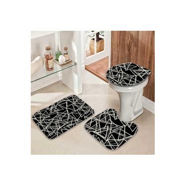 Imagem de Jogo de banheiro com 3 peças Pelo baixo