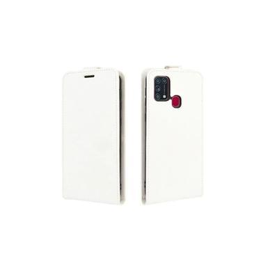 Capa Flip Vertical Samsung Galaxy M21S – Branco