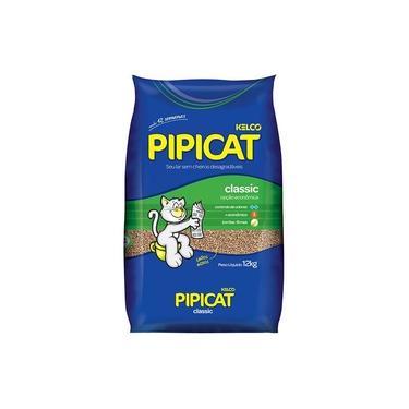 Areia Sanitária Classic Pipicat - 12 Kg