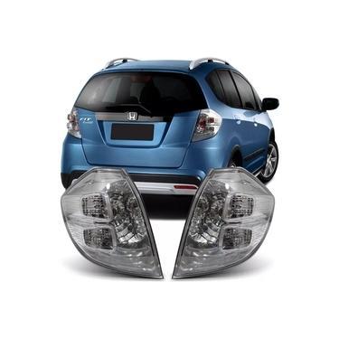 Lanterna Traseira Honda Fit Twist 2009/2015 Esquerda Fitam