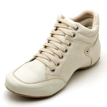 Bota Clube do Sapato de Franca Top Sport Confort  Nude  feminino