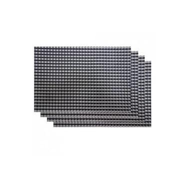 Imagem de Jogo Americano 4 peças Retangular 30x45cm Montevideo Des. 001 - Niazitex