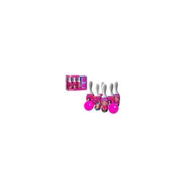 Imagem de Jogo De Boliche Infantil Barbie 6 Pinos - Angel