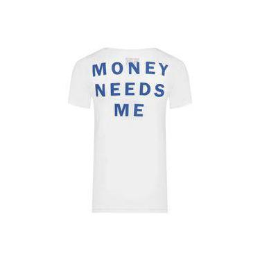 9ab9037db9 Camiseta masculina dont need money - branco - sergio k