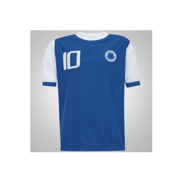 004fbffcba Camiseta do Cruzeiro 10 - Infantil - AZUL Xps Sports