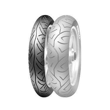 Pneu Pirelli SPORT Demon 100-80-17 52S M/C TL Dianteiro CBX 250 Twister / Fazer 250 / CBR 450 / GS 500 / XTZ125X 2010 END - HONDA CB 300R