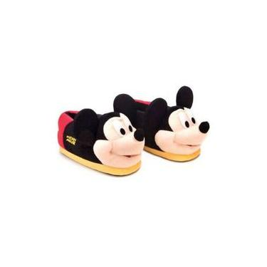 Pantufa 3d Mickey Mouse 28/30 Ricsen