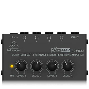 Powerplay Amplificador de Fones de Ouvido - HA400, Behringer