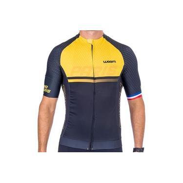 Camisa De Ciclismo Woom Supreme Paris Masculina Coleção 2021