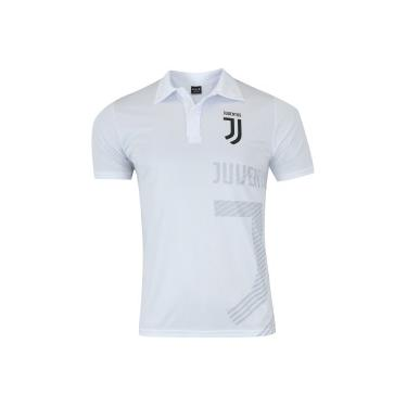 Camisa Polo Juventus Shadow - Masculina - BRANCO Xps Sports 88d4c5a3668