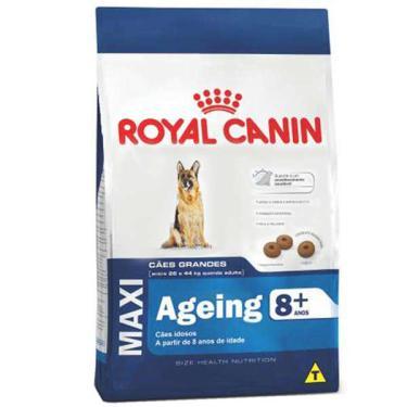 Ração Royal Canin Maxi Ageing 8+ para Cães de Raças Grandes Idosos com 8 Anos ou mais - 15 Kg