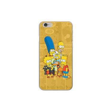 Capa Para Iphone 6 E 6s - História Em Quadrinhos Simpsons
