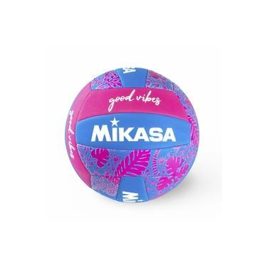 Bola de Vôlei de Quadra/Praia Mikasa Good Vibes Rosa/Azul