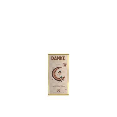Chocolate Em Barra Ao Leite com Amêndoas Crocantes Memórias Danke 90g