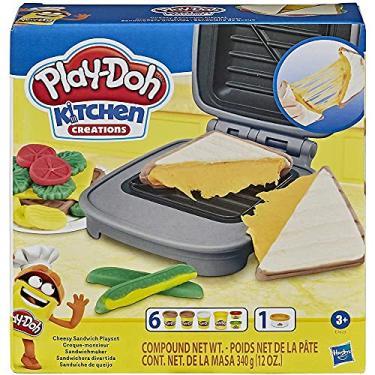 Imagem de Massinha Play-doh Sanduíche de Queijo - Hasbro