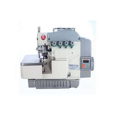 Máquina de Costura Industrial Overlock Singer 351G-131M-04E com Motor Direct Drive Autovolt