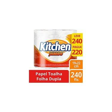 Papel toalha Kitchen bobina leve 240 e pague 220fl Melhorampapeis PT 2 BB