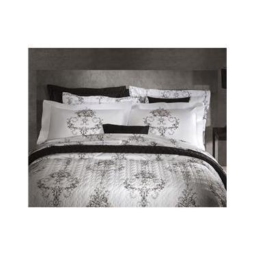 4c42734430 Jogo de Cama Queen - Percal 200 Fios - Naturalle Fashion - Atlântida