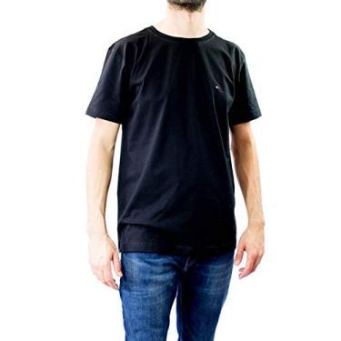 1c8cf25a6 Camiseta Masculina Gola Redonda Tommy Hilfiger