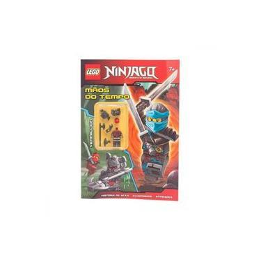 Lego Ninjago - Mestres do Spinjitzu - Mãos do Tempo - Lego - 9788595031678