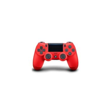 Sony DualShock 4 sem fio - Vermelho - Controle para Playstation 4