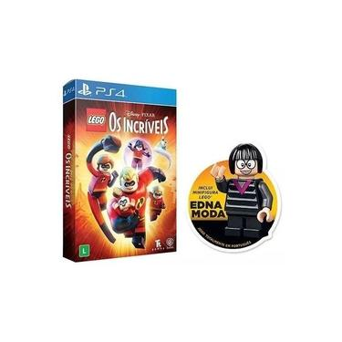Lego Os Incríveis (Com Figura Edna) - Ps4