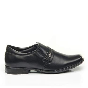 Sapato Social Masculino, Pegada, Preto, 41