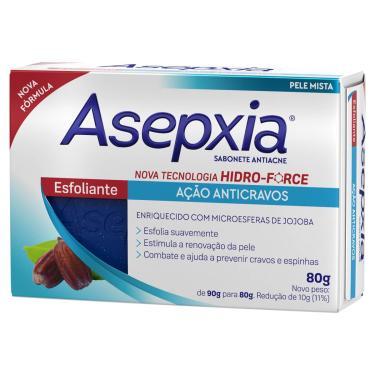 Imagem de Sabonete Facial em Barra Asepxia Esfoliante Antiacne com 80g 80g