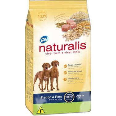 Ração Total Naturalis Frango e Peru  para Cães Adultos - 20 Kg