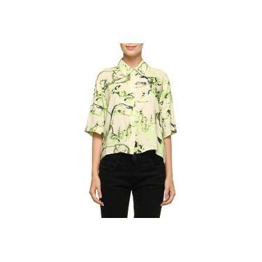 8c64053df Camisa Casual Wasabi Estampa
