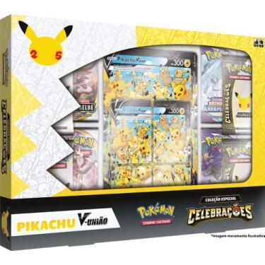 Imagem de Box Pokémon Celebrações Pikachu V União