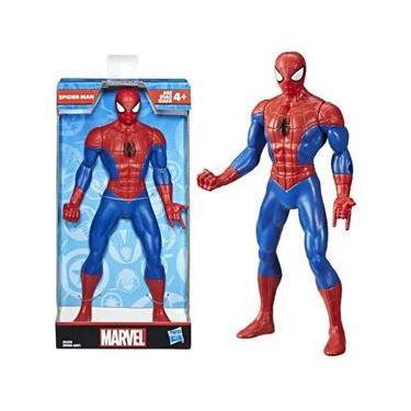 Boneco Homem Aranha Spider Man Marvel E6358 Hasbro 23Cm