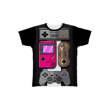 Camiseta Camisa Playstation X Box Controle Jogos Jogo Game23